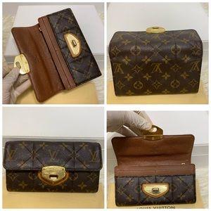 Louis Vuitton Etoile long wallet only monogram